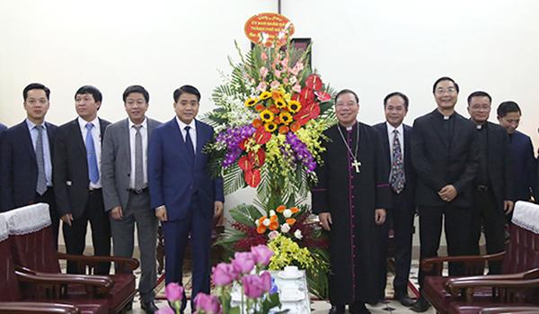 Hà Nội tạo điều kiện thuận lợi nhất để bà con giáo dân đón Giáng sinh an lành