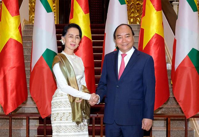 Quan hệ Việt Nam - Myanmar ngày càng sâu sắc và bền chặt