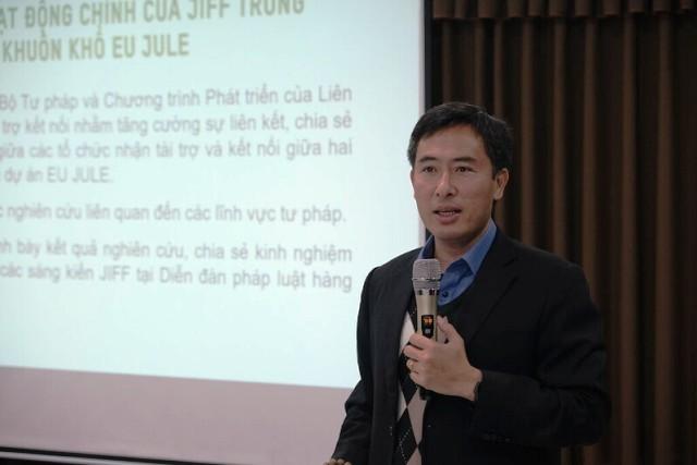 Giới thiệu Quỹ Thúc đẩy sáng kiến tư pháp đợt 2