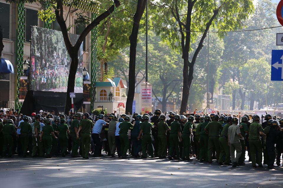 TP Hồ Chí Minh diễn tập ứng phó các tình huống phức tạp về an ninh, trật tự