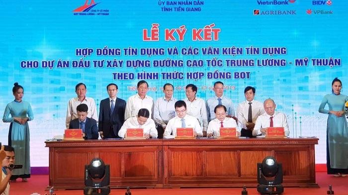 6 686 tỉ đồng vốn tín dụng cho dự án cao tốc Trung Lương - Mỹ Thuận