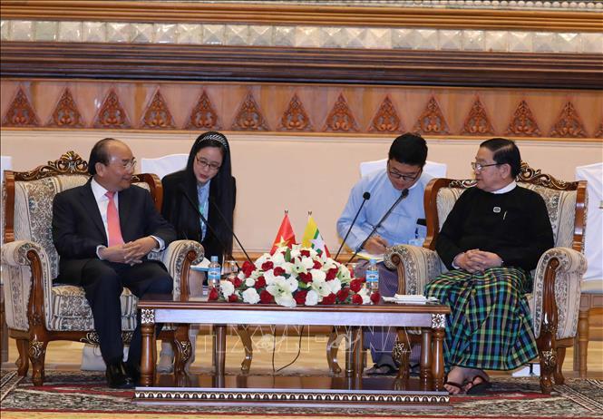 Myanmar mong muốn Việt Nam chia sẻ kinh nghiệm phát triển kinh tế