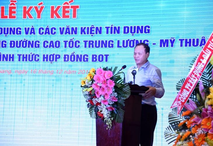 Ngành ngân hàng thu xếp gần 7 000 tỷ đồng vốn cho cao tốc Trung Lương - Mỹ Thuận