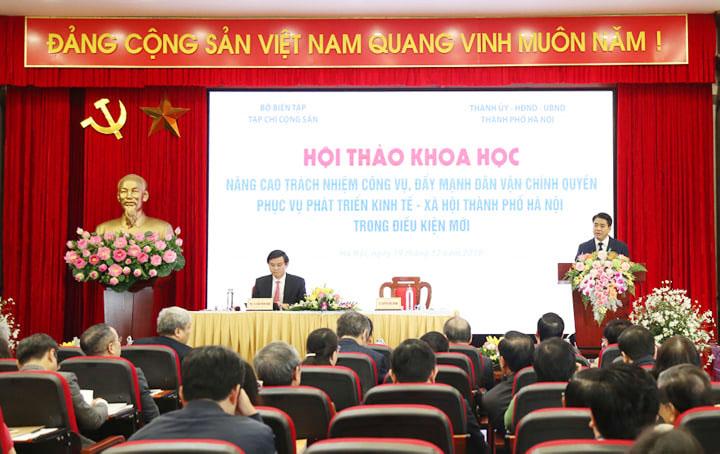 Hà Nội Đẩy mạnh dân vận chính quyền