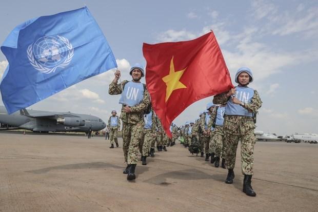 Đánh giá cao hiệu quả hoạt động gìn giữ hòa bình của Việt Nam