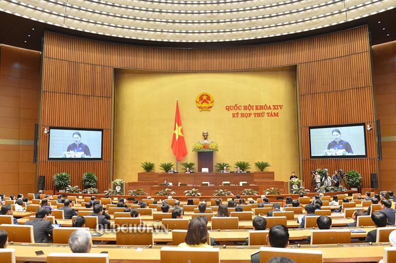 Công bố 03 Nghị quyết đã được thông qua tại Kỳ họp thứ 8, Quốc hội khóa XIV