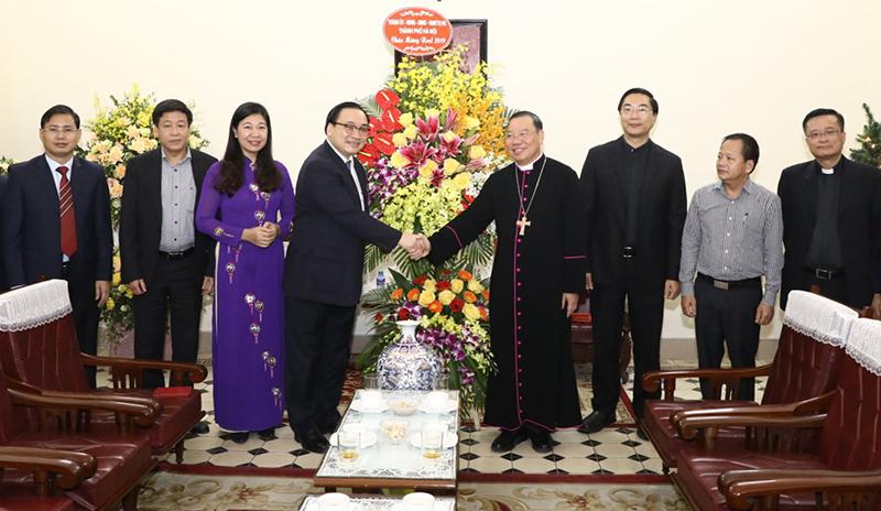 Đồng bào Công giáo Thủ đô tiếp tục góp sức xây dựng khối đại đoàn kết toàn dân tộc