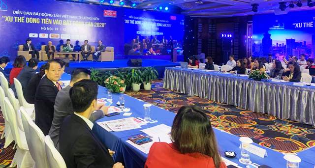 Diễn đàn bất động sản Việt Nam 2019 Xu thế dòng tiền vào bất động sản 2020