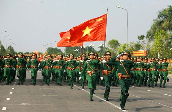 Quân đội bách chiến, bách thắng của dân tộc và đất nước anh hùng