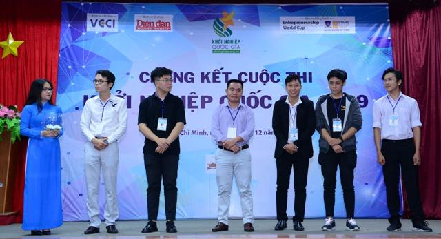 Chung kết cuộc thi Khởi nghiệp Quốc gia 2019 tại TP Hồ Chí Minh