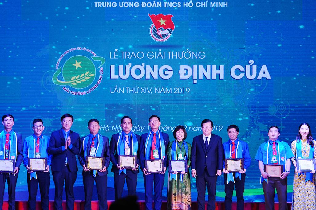 Tuyên dương 34 nhà nông trẻ tiêu biểu nhận giải thưởng Lương Định Của 2019