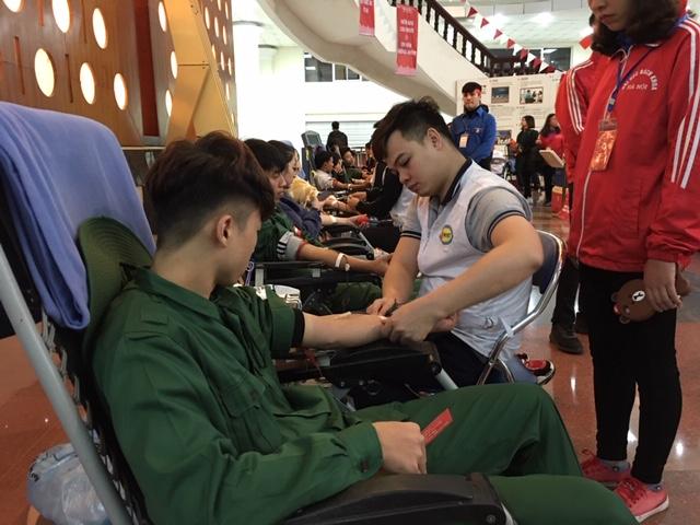 Lan toả thông điệp hiến máu cứu người