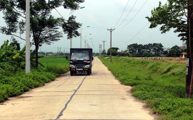 Giao thông nông thôn Vĩnh Phúc ngày càng hiện đại