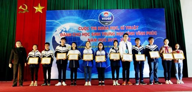Sở GD ĐT tổ chức cuộc thi KHKT cấp tỉnh dành cho học sinh trung học năm học 2019 - 2020