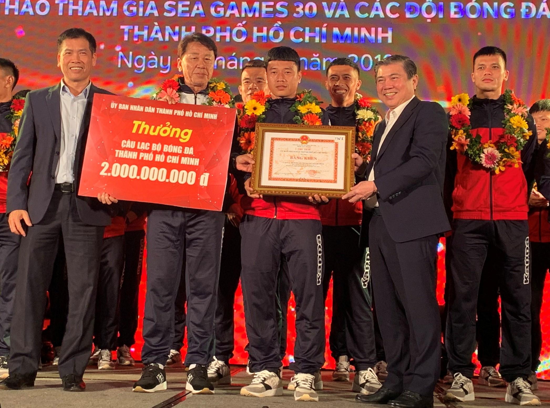 TP Hồ Chí Minh Khen thưởng vận động viên đạt thành tích cao năm 2019