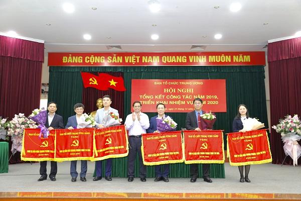 Thi đua lập thành tích chào mừng 90 năm ngày thành lập Ngành Tổ chức xây dựng Đảng