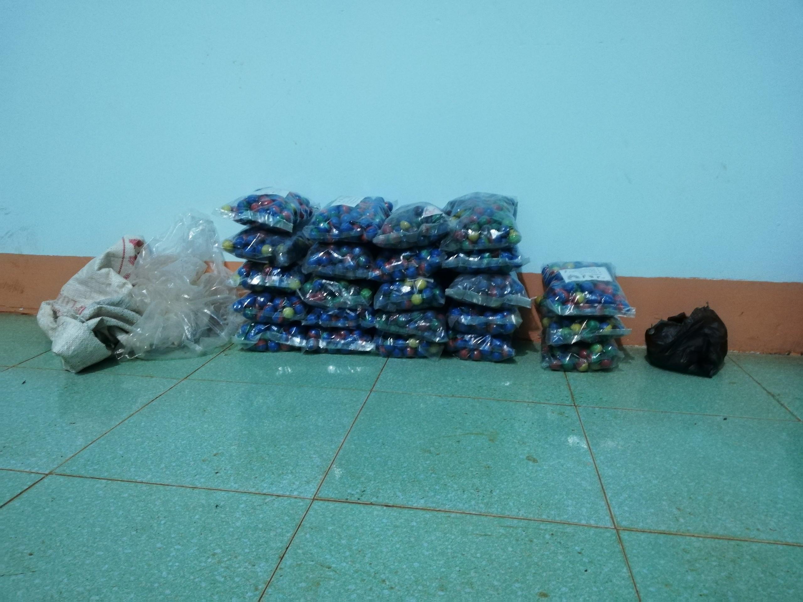 Bình Phước Thu giữ hơn 270 kg pháo các loại