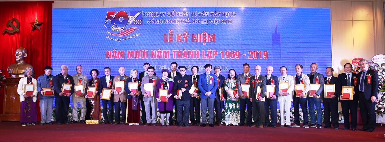 Kỷ niệm 50 năm thành lập Công ty cổ phần tư vấn xây dựng công nghiệp và đô thị Việt Nam