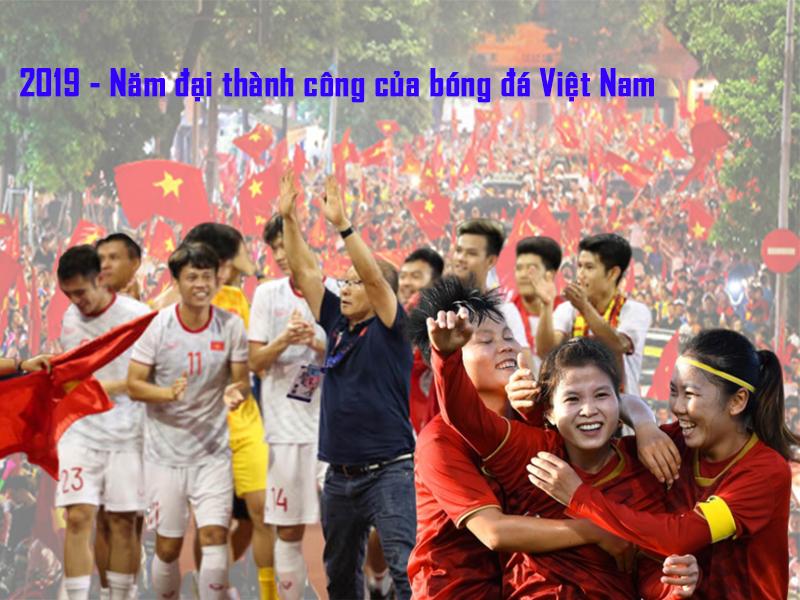 [Infographic] 2019 - Năm đại thành công của bóng đá Việt Nam