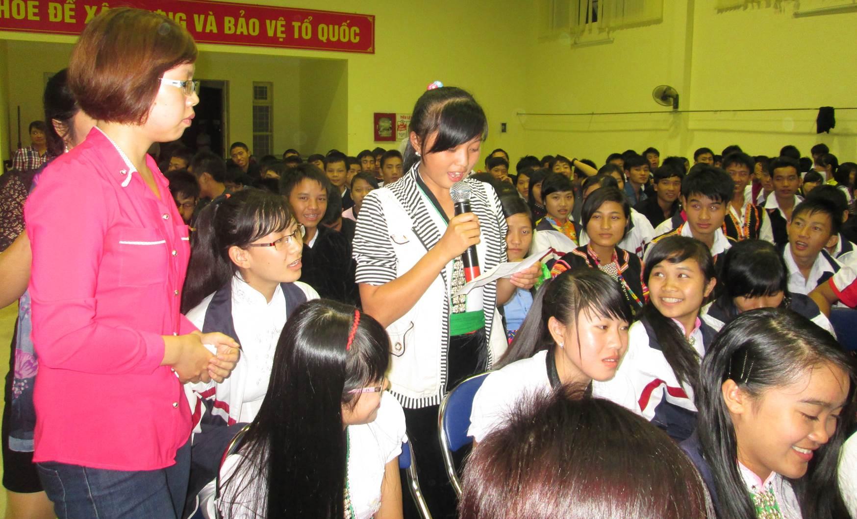Điện Biên chú trọng giáo dục pháp luật trong trường học