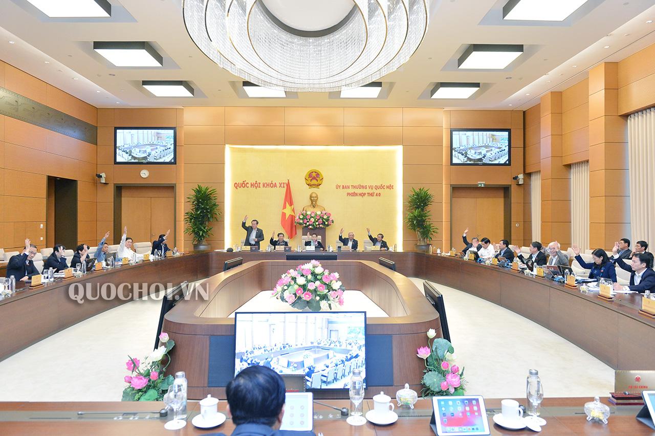 Công bố 19 Nghị quyết của UBTVQH về sắp xếp các đơn vị hành chính và nhân sự