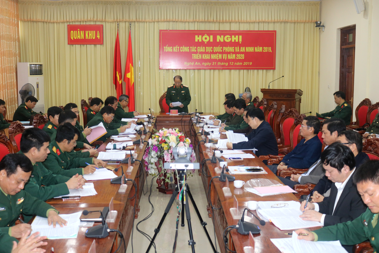 Quân khu 4 chú trọng bồi dưỡng kiến thức quốc phòng - an ninh