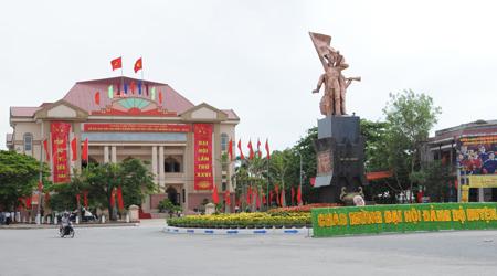 Tiền Hải Thái Bình đón bằng công nhận huyện đạt chuẩn nông thôn mới
