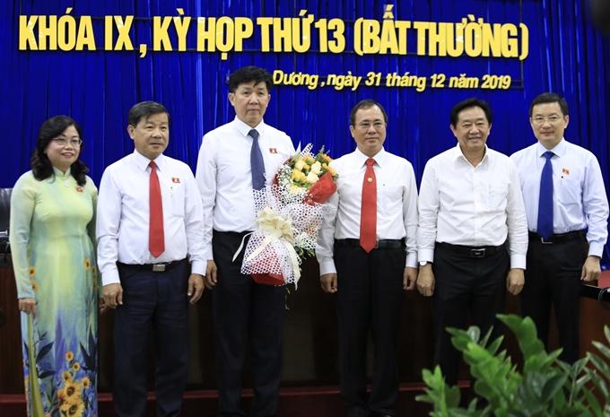Đồng chí Nguyễn Thanh Trúc được bầu giữ chức Phó Chủ tịch UBND tỉnh Bình Dương