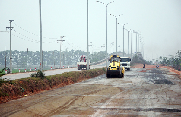 Huyện Bình Xuyên Vĩnh Phúc đã giải ngân trên 279 tỷ đồng vốn đầu tư công