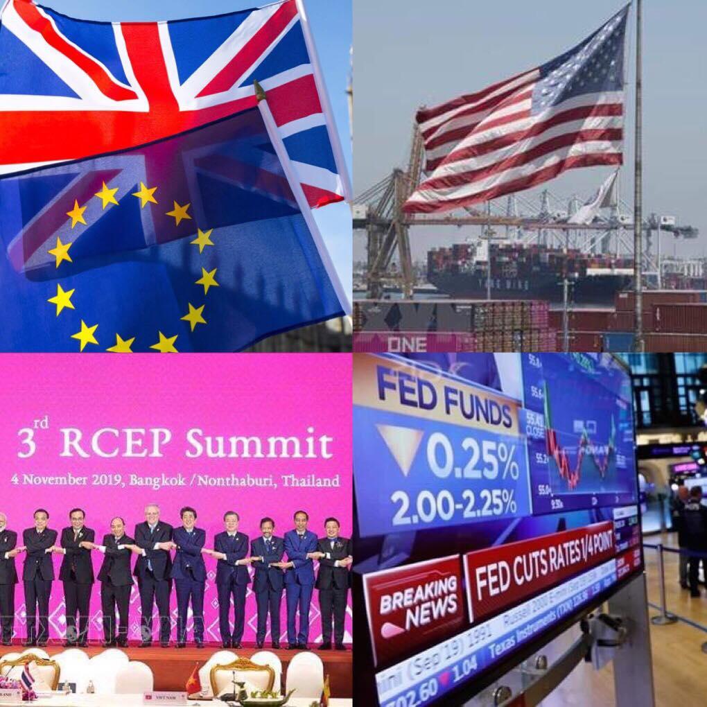10 sự kiện kinh tế thế giới tiêu biểu năm 2019