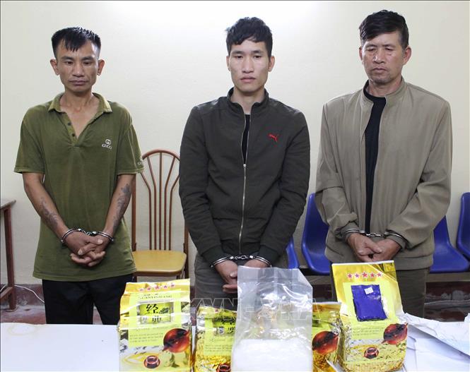 Sơn La Bắt 3 đối tượng, thu giữ số lượng lớn ma túy