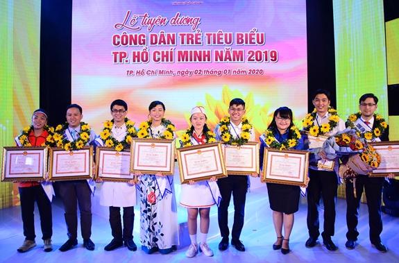 TP Hồ Chí Minh tuyên dương 12 Công dân trẻ tiêu biểu