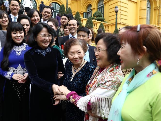 Phó Chủ tịch nước Đặng Thị Ngọc Thịnh gặp mặt tri ân những tấm lòng vàng năm 2019