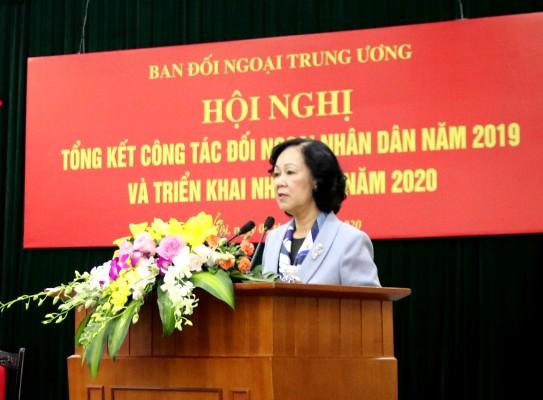 Tiếp tục đổi mới và nâng cao hiệu quả công tác đối ngoại nhân dân