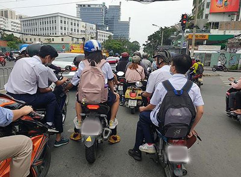 TP Hồ Chí Minh Xử lý nghiêm học sinh vi phạm luật giao thông dịp Tết