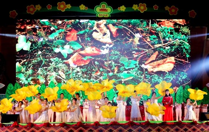 Lễ hội Trà hoa vàng được tổ chức vào tháng 2 2020