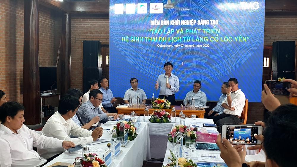Quảng Nam Tạo điều kiện cho tổ chức, cá nhân khởi nghiệp từ du lịch ở Làng cổ Lộc Yên