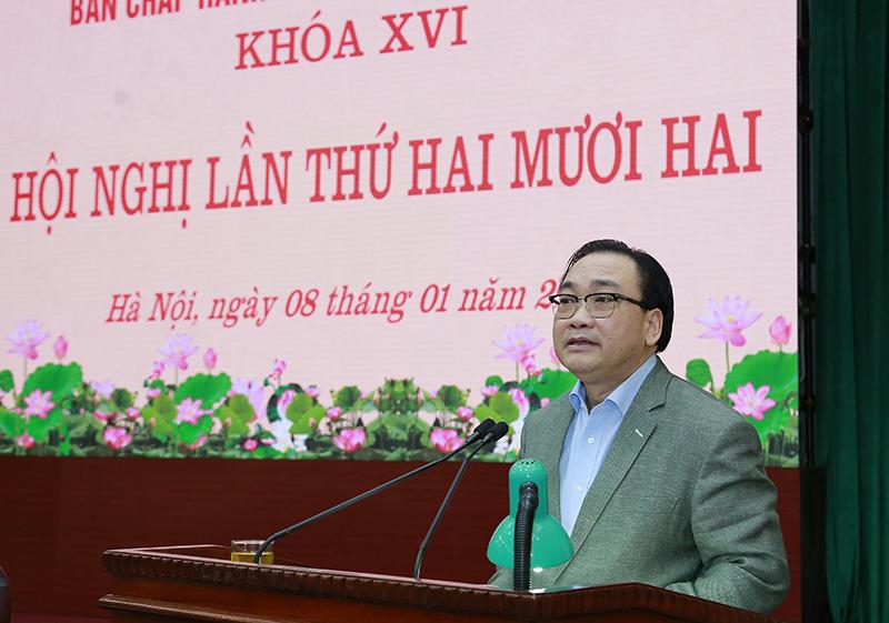 Gắn việc chuẩn bị Đại hội Đảng với công tác triển khai Đề án chính quyền đô thị