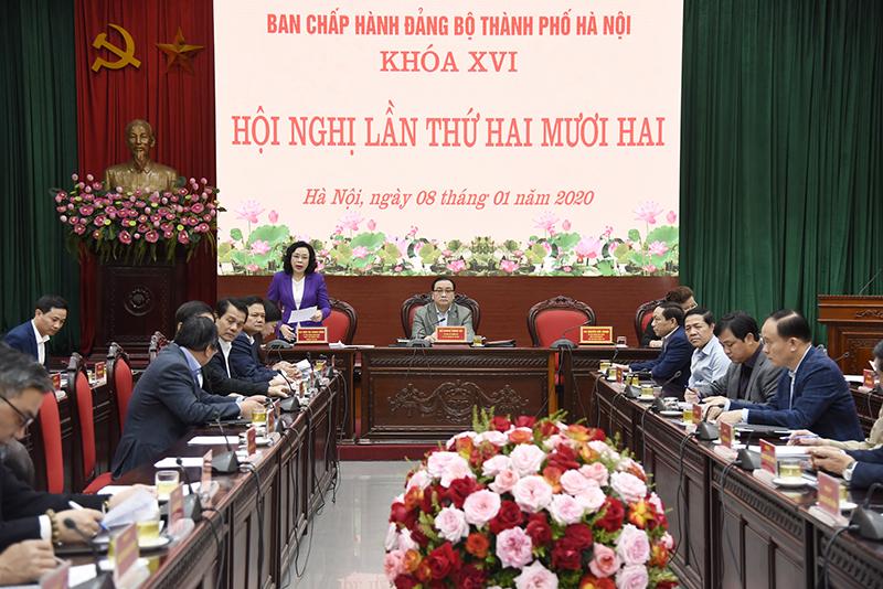 Hà Nội Triển khai một số nhiệm vụ quan trọng trong công tác xây dựng Đảng