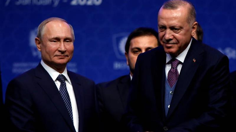 Lãnh đạo Nga, Thổ Nhĩ Kỳ ra tuyên bố về một số điểm nóng
