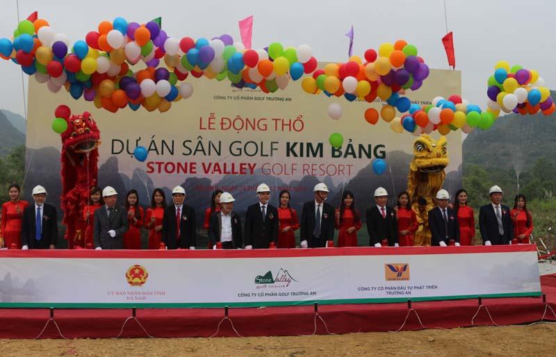 Đầu tư dự án sân golf 36 hố tại Kim Bảng Hà Nam