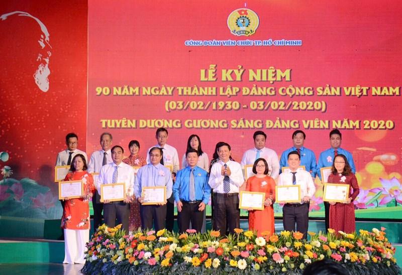TP Hồ Chí Minh Tuyên dương 90 Gương sáng đảng viên