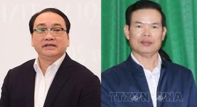 Bộ Chính trị kỷ luật 2 đồng chí Hoàng Trung Hải và Triệu Tài Vinh