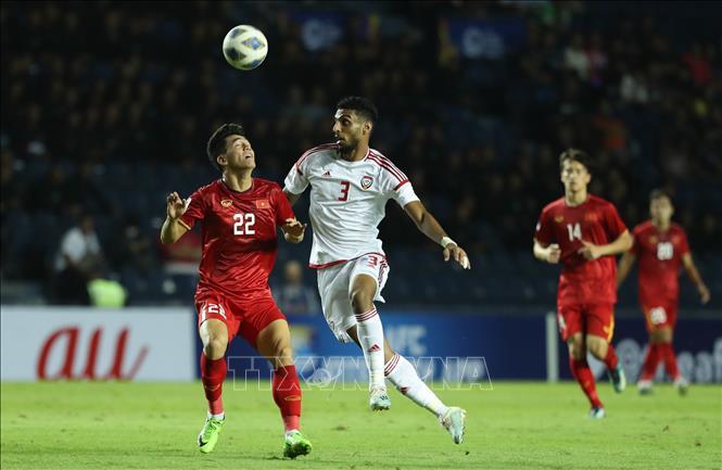 U23 Việt Nam giành được 1 điểm quý giá trước U23 UAE