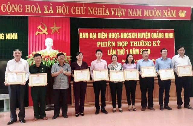 Tổng dư nợ NHCSXH Quảng Ninh, Quảng Bình đạt 328 499 triệu đồng