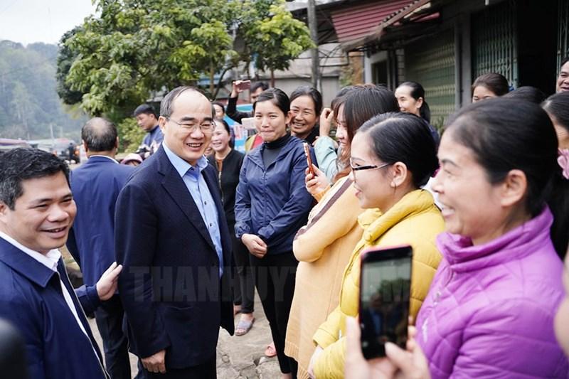 Bí thư Thành ủy TP Hồ Chí Minh Nguyễn Thiện Nhân làm việc với tỉnh Bắc Kạn