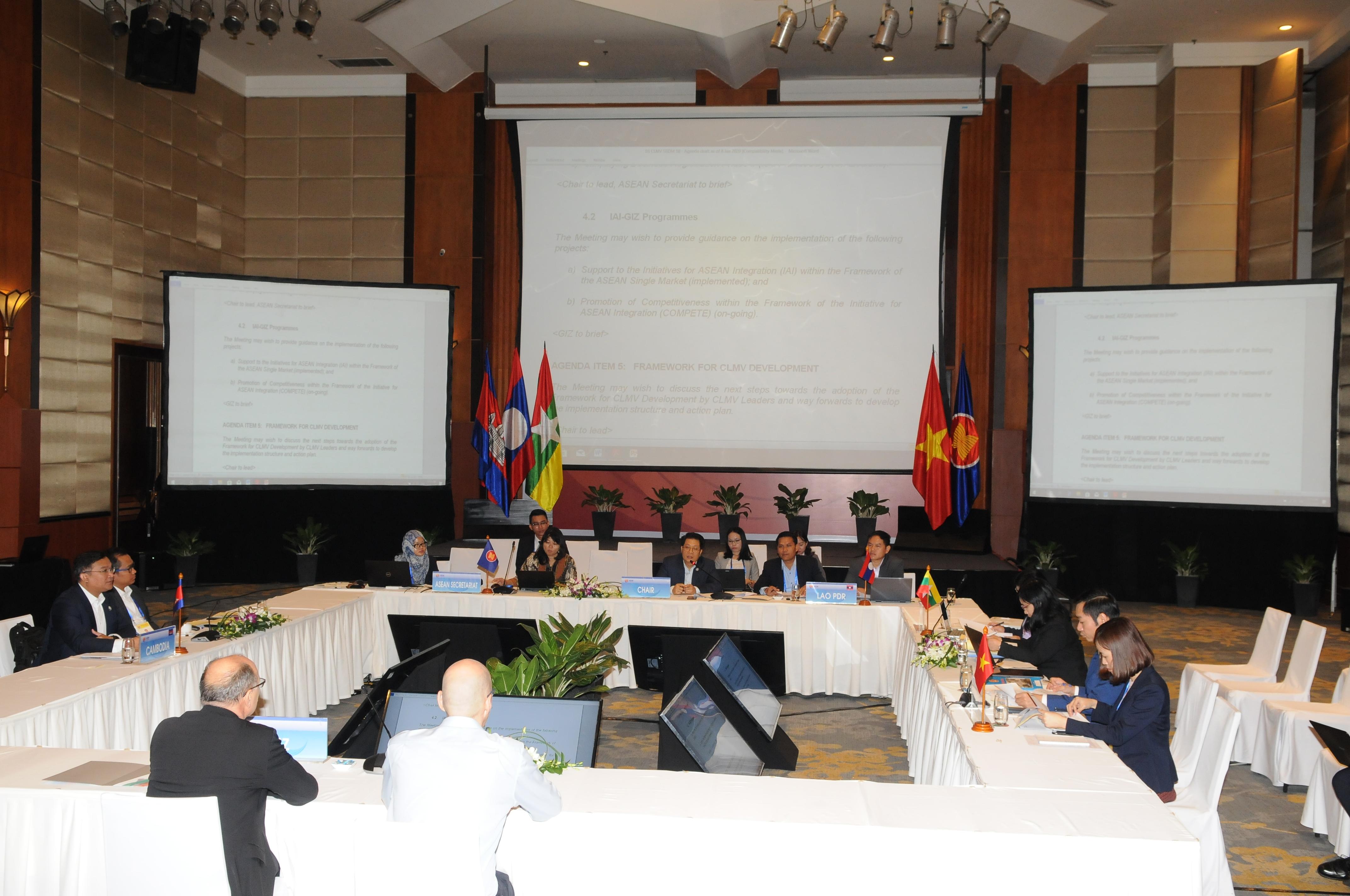 ASEAN 2020 Cuộc họp thứ 18 giữa các nước Campuchia – Lào – Mianma – Việt Nam