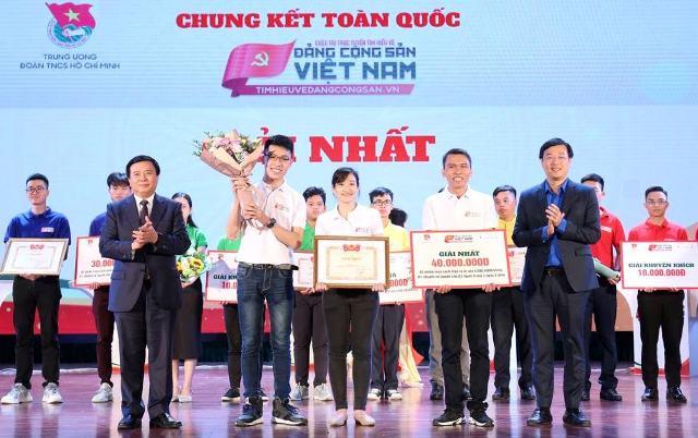 Chung kết toàn quốc cuộc thi trực tuyến tìm hiểu về Đảng Cộng sản Việt Nam