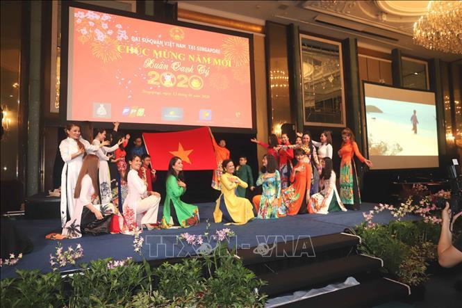 Người Việt Nam ở nước ngoài tổ chức đón Tết Nguyên đán