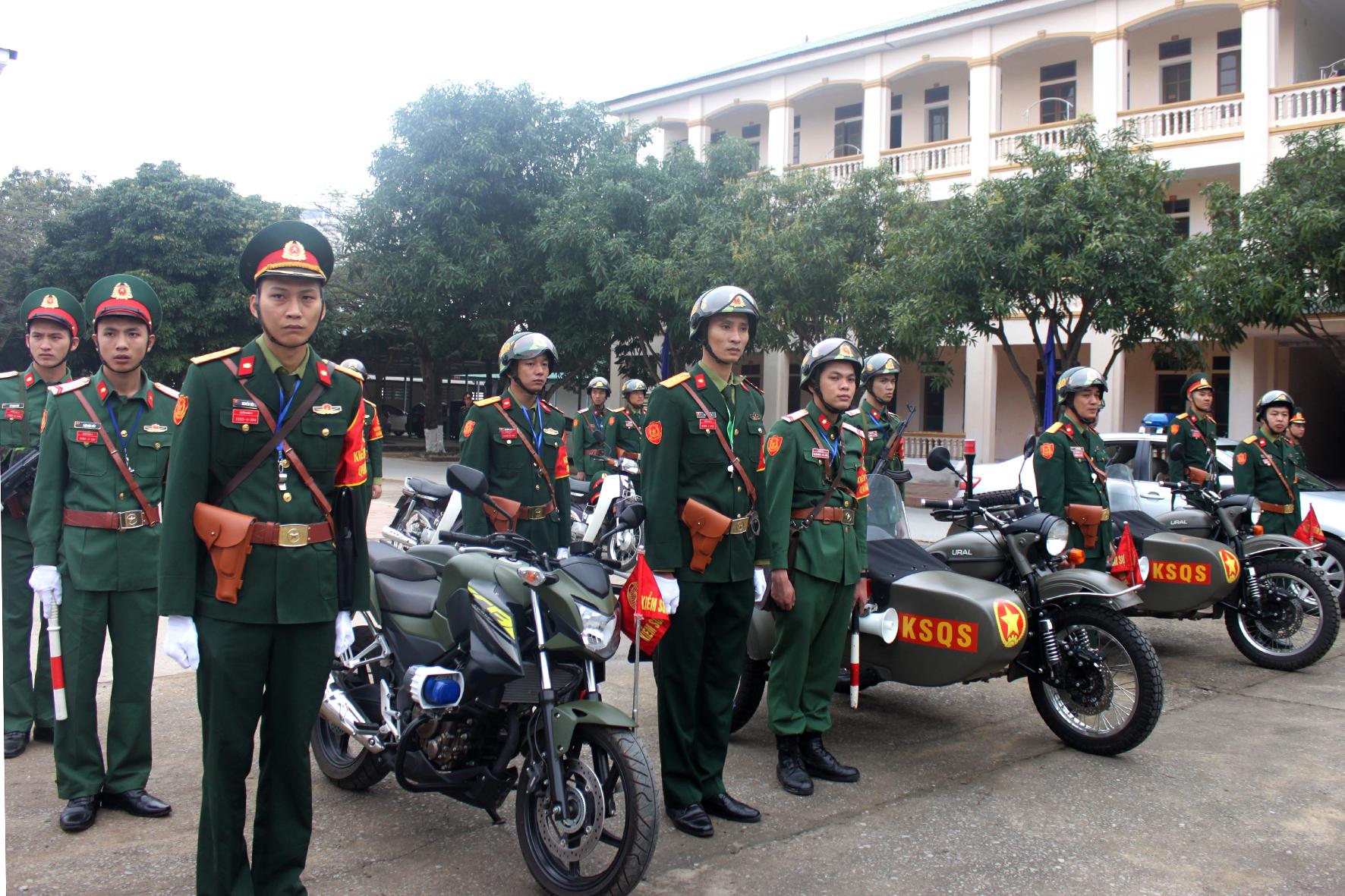 Quân khu 4 Xuất quân kiểm tra duy trì kỷ luật quân đội